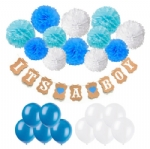 IT'S A BOY Happy Birthday Party Banners BB-009