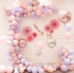 5m wedding party pink balloon decorations BB-053